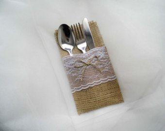 Cuscino per fedi, matrimonio della tela da imballaggio, della tela da imballaggio e decorazione in pizzo, mano portatore cuscino anello
