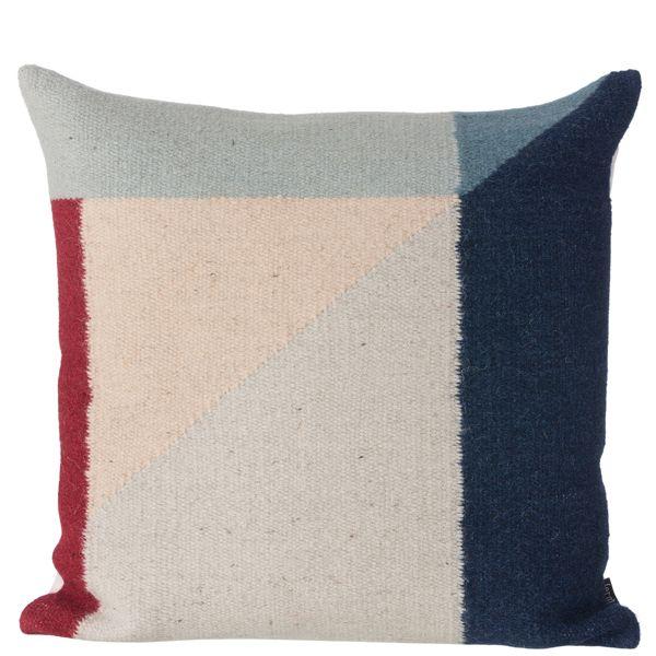 Kelim cushion, Rose Triangle, by Ferm Living.