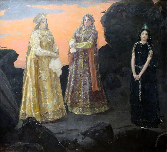 В. Васнецов. Три царевны подземного царства. 1879. ГТГ