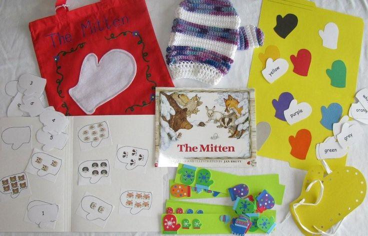The Mitten literacy bag