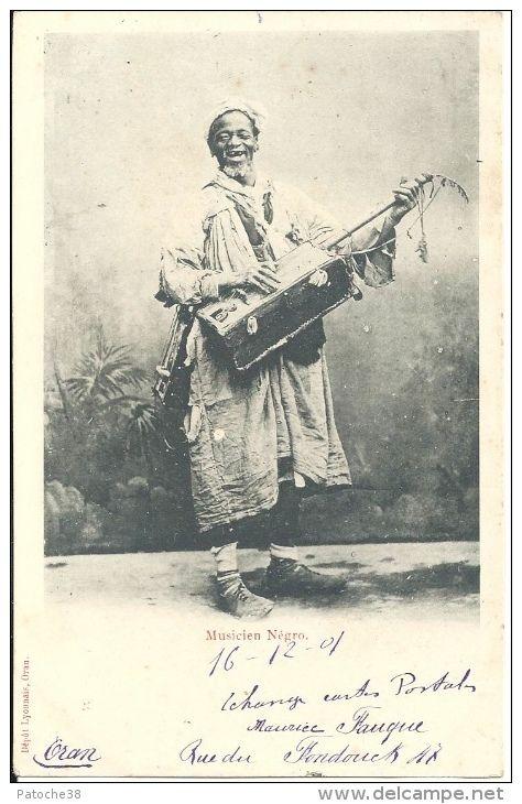 ALGÉRIE - Musicien Négro Gnaoua à ORAN - Algérie