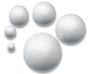 esferas conos cilindros cubos todo de telgopor