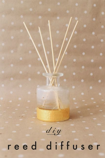 Making your own scented reed diffusers + oil at home for pennies.