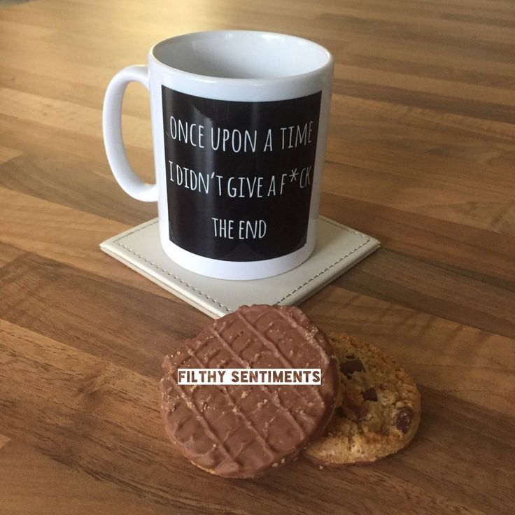 Our quirky mugs have the popular Filthy Sentiments quotes printed onto them. Remember... say it the filthy way.