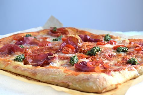 Den nemmeste pizzadej – koldhævet og æltefri