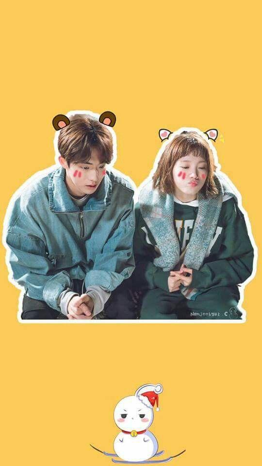 Nam Joo Hyuk x Lee Sung Kyung wallpaper / lockscreen