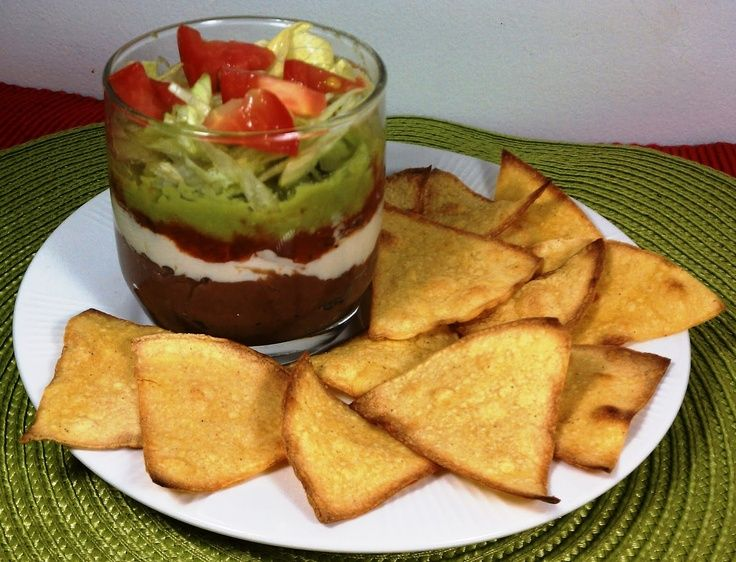 Weight Watchers Recipes with Points   Emily Bites - Weight Watchers Friendly Recipes: Layered Bean Dip with ...