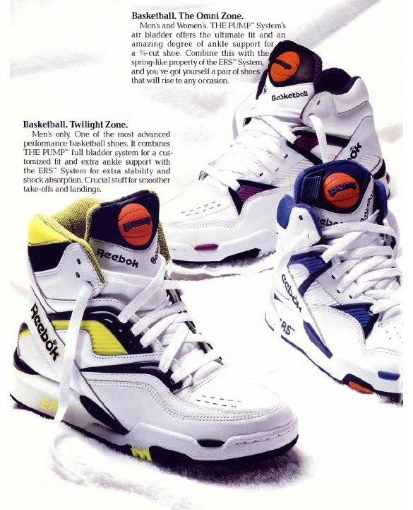 Old School Pump Basketball Shoes
