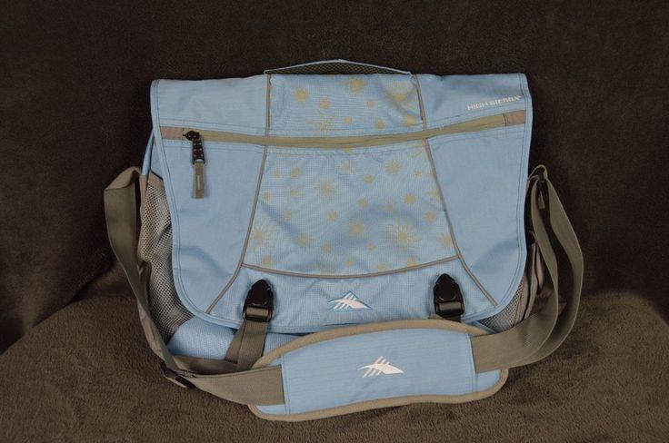 High Sierra Tank Pack Messenger Bag Crossbody Shoulder Computer Laptop  #HighSierra #MessengerShoulderBag