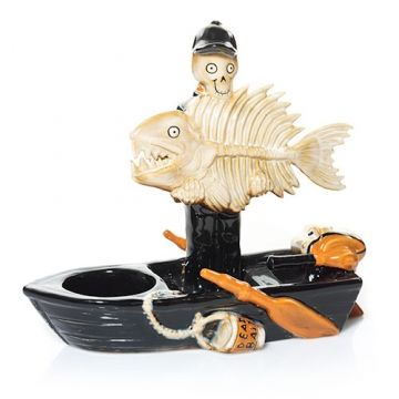 Fish And Boat : Tea Light Candle Holder : Yankee Candle
