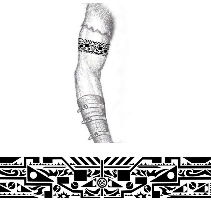 tribal_industrial_arm_band_tattoo_by_thehoundofulster-d4u4quw.jpg (1200×1228)