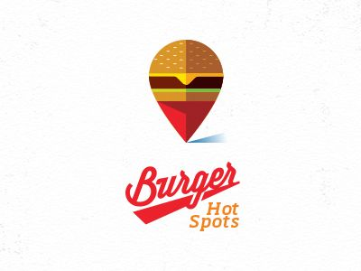 Burger Hot Spots by Mike Bruner