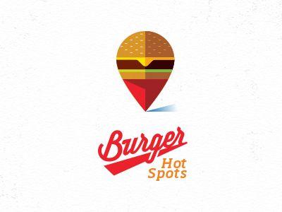 Burger Hot Spots by Mike Bruner