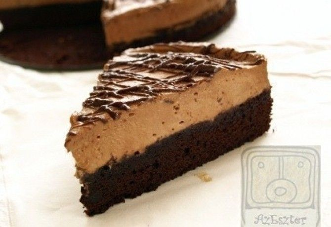 Nutella mousse-os brownie torta- a 9. főbűn