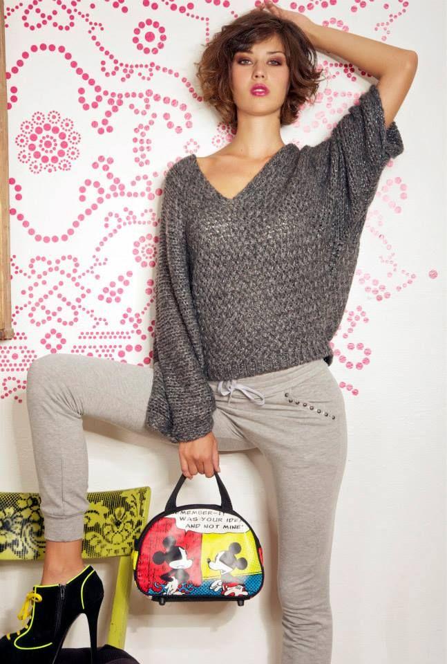 maglia kimono + pantalone felpa