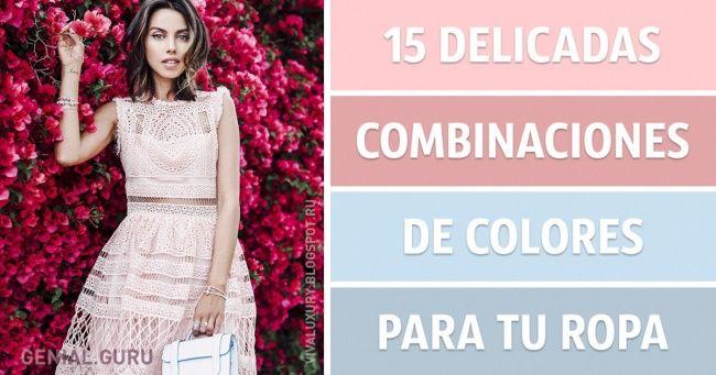15Delicadas combinaciones decolores para turopa
