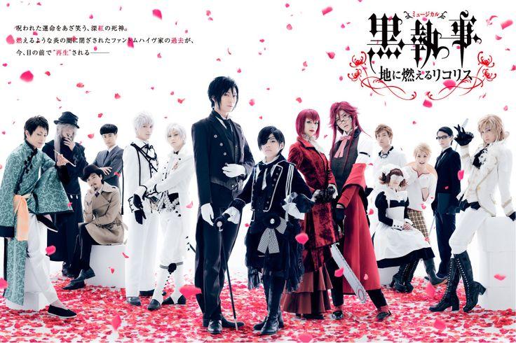 Мюзикл Тёмный дворецкий 2014 quot;Пылающий алым ликорисquot;/Kuroshitsuji III Musical ~Ji ni Moeru Lycoris~ 2014