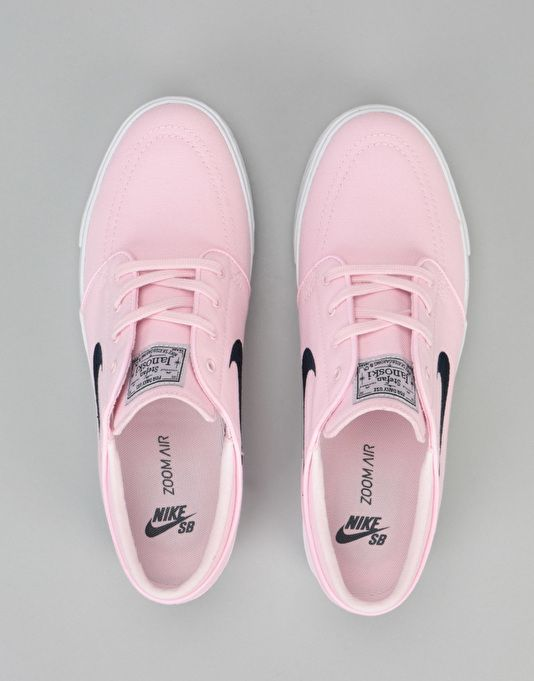 Nike SB Zoom Stefan Janoski Skate Shoes - Prism Pink/Obsidian