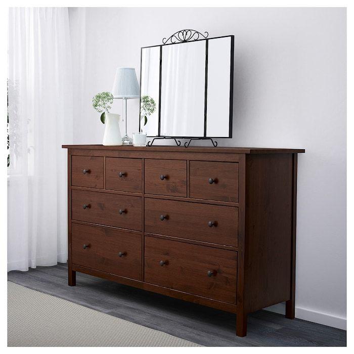 Hemnes 8 Drawer Dresser Medium Brown Ikea Ikea Furniture Makeover Brown Dresser 8 Drawer Dresser