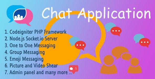 Chat Application v2 0 Codeigniter ( Socket io) Node js | Web