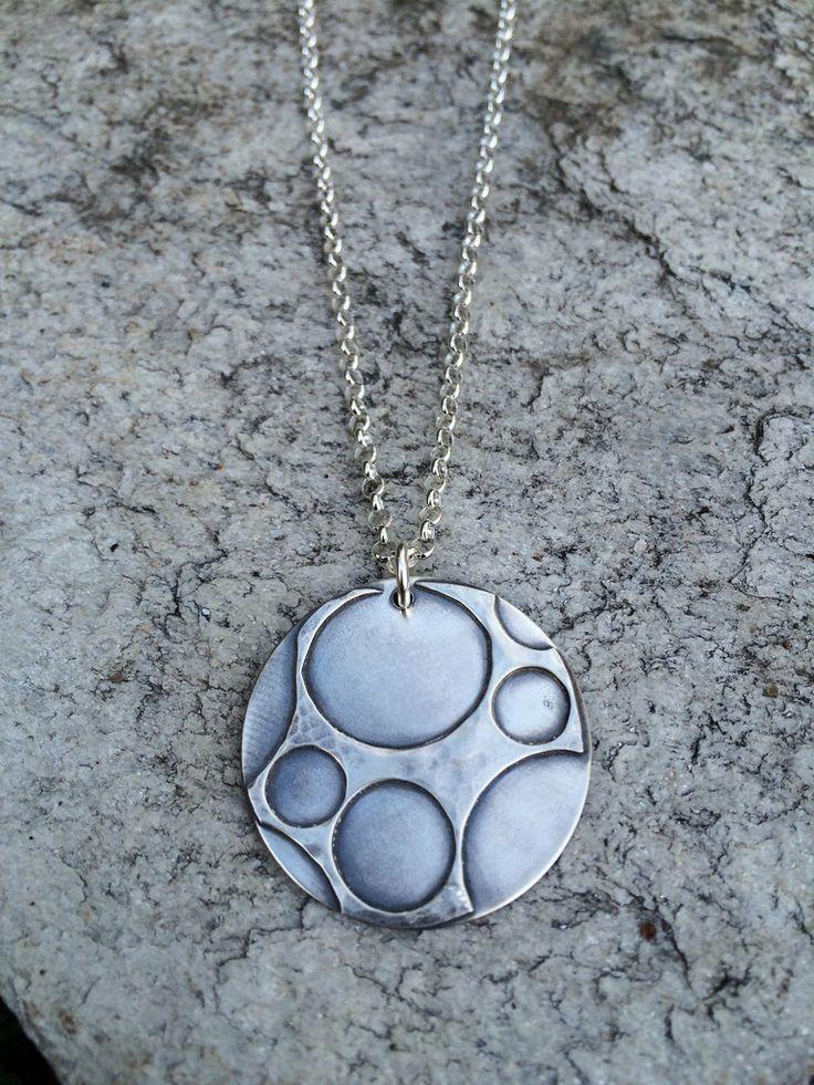 Fused Silver Necklaces