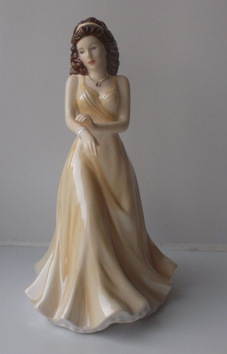 "Rare Royal Doulton Birthstones Figurine ""June Pearl"" HN5631."