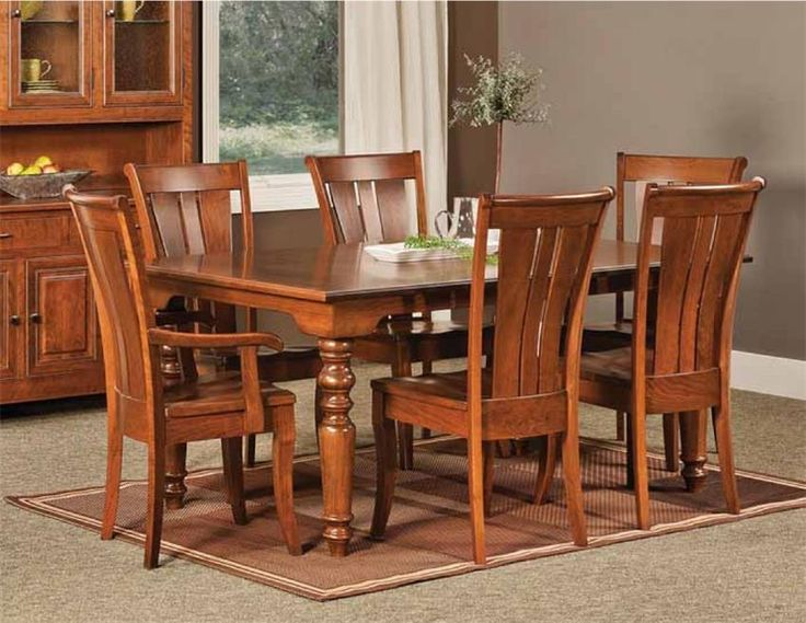 Amish Fenmore Leg Table