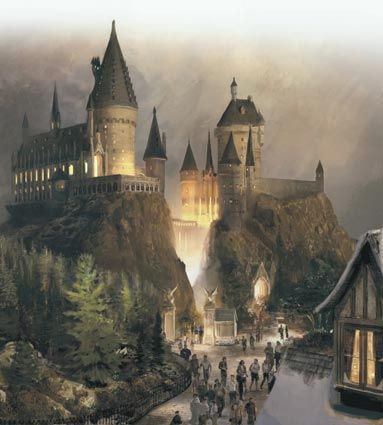 The Wizarding World of Harry Potter - about 3 more weeks until I'm there! Can't wait to get some butterbeer
