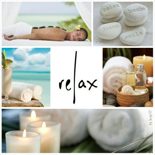 Relax. Dream. Breathe. Smile.