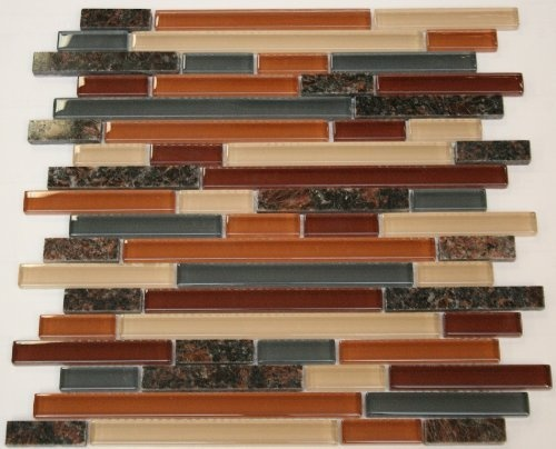 Best Random Brick Pattern Glass Tile Granite Tile Color 400 x 300