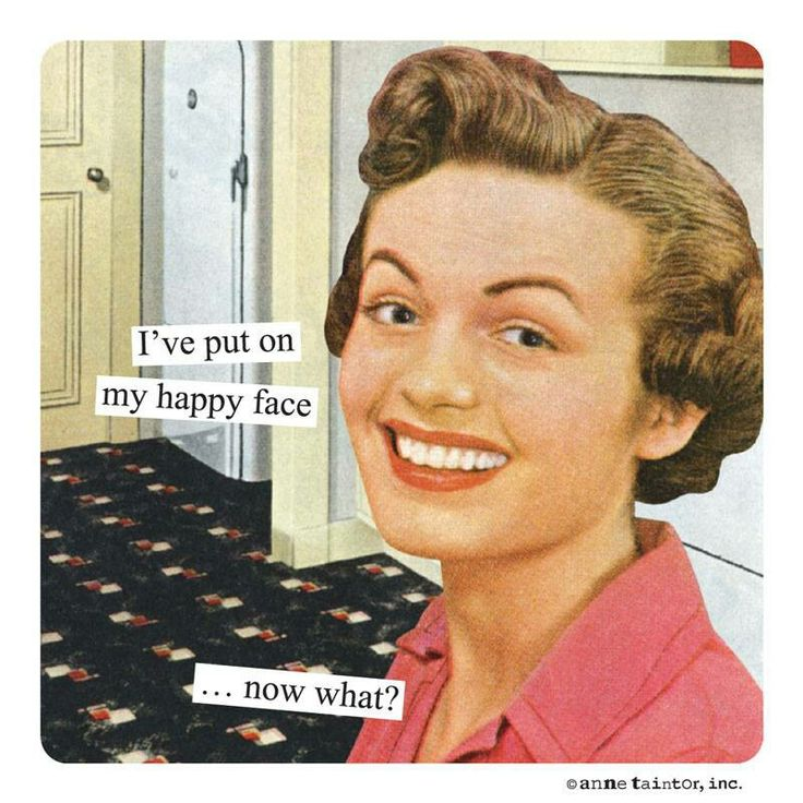 anne taintor :: Happy Face                                                                                                                                                     More