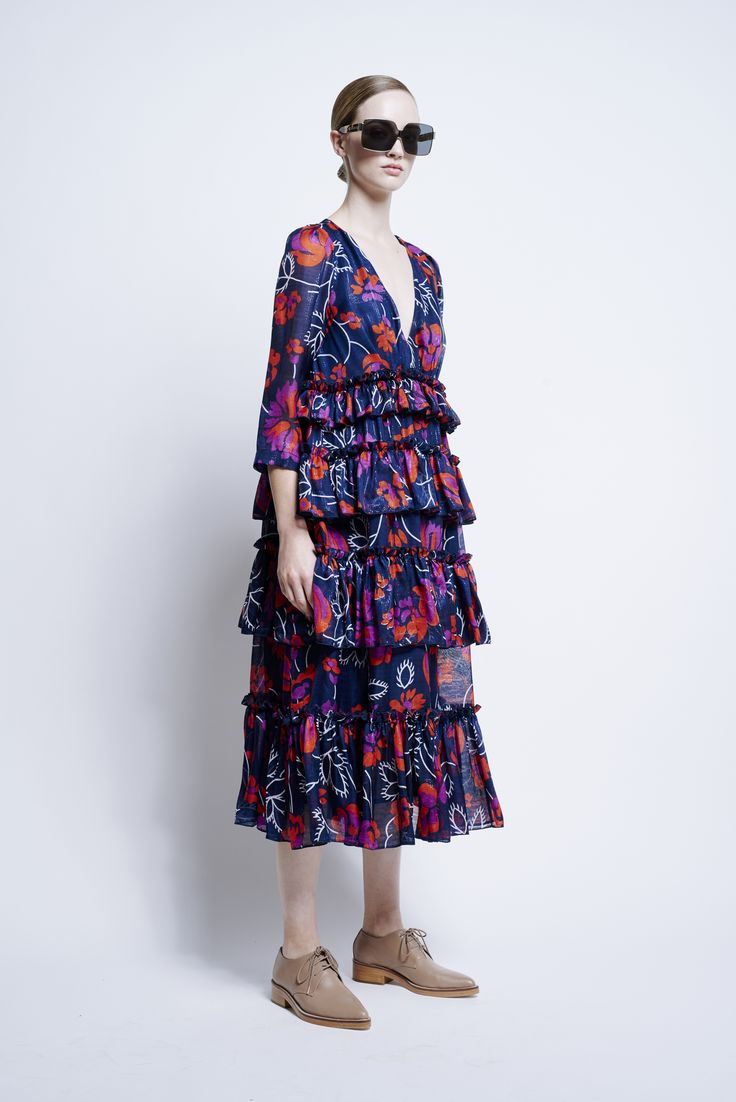Floral love. Ready to wear and Child Labor Free tick for Karen Walker   Good Magazine