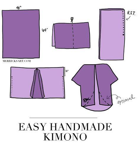 Aprende a hacer un kimono con flecos con una camisa