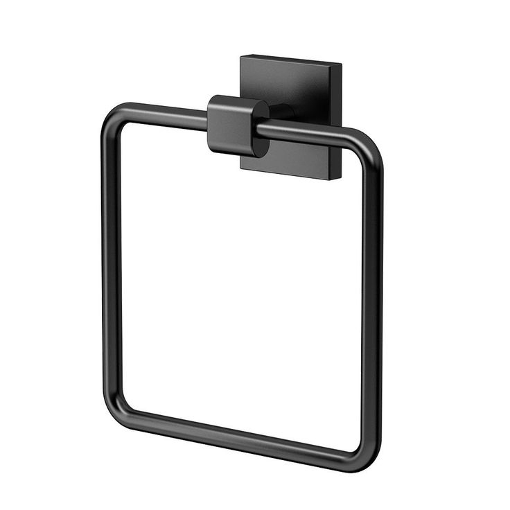 Gatco 4052MX Elevate Bathroom Towel Ring Holder, Matte Black, Towel Rings - Amazon Canada