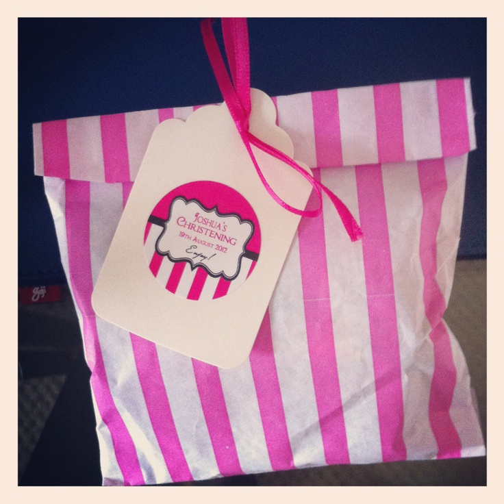 Homemade Sweetie Bags - another idea for summer fair.