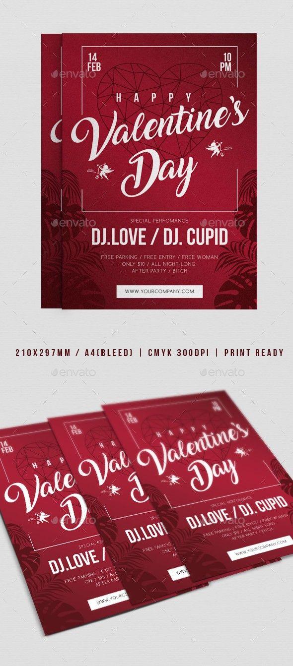 Club Flyer Love Day Poster Modern