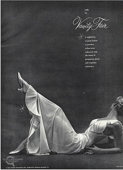 1950s Vanity Fair nightgown