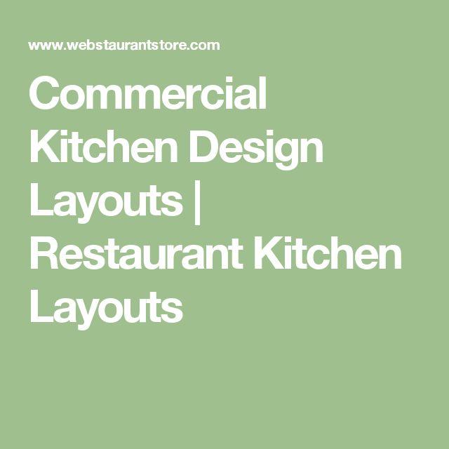 Best 25+ Restaurant Kitchen Design Ideas On Pinterest