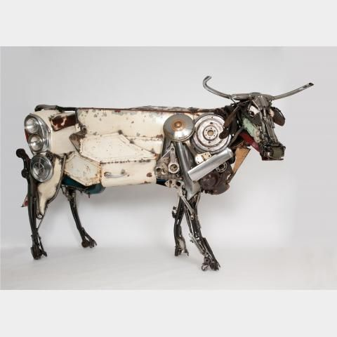 James Corbett - Longhorn Cow (SOLD)
