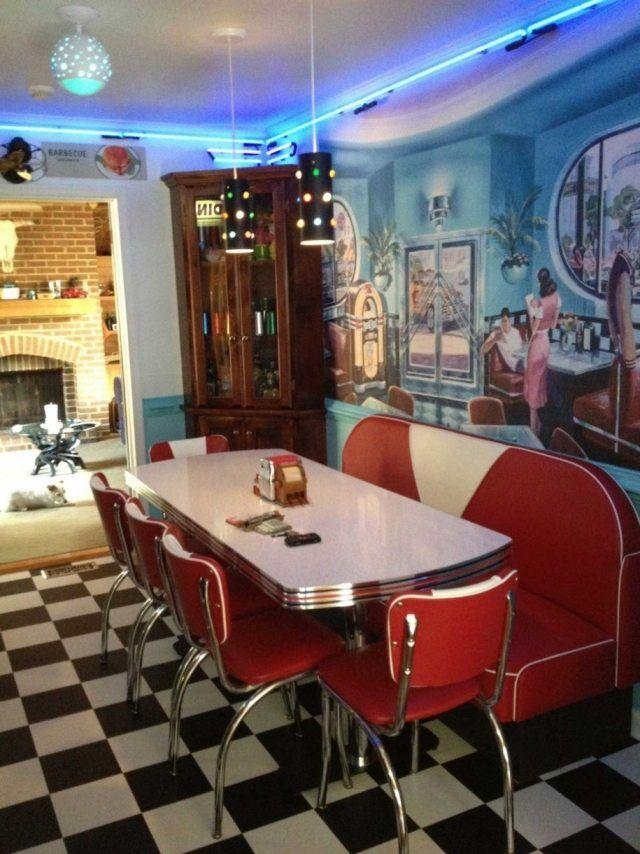 Mobilier vintage charme authentique pour chaque pi ce de - Decoration interieur americain ...