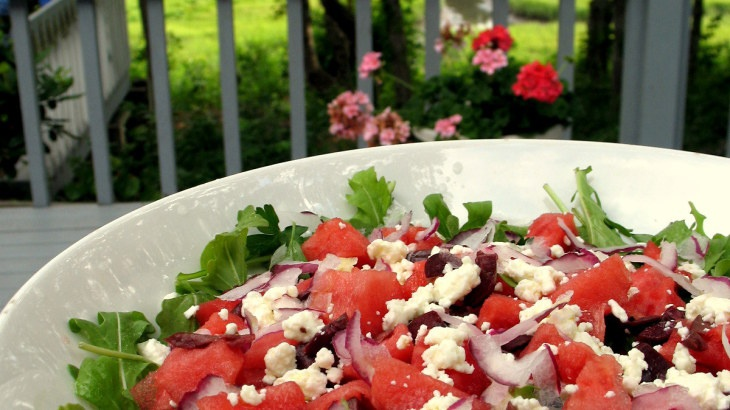 Arugula salad, The o'jays and Watermelon on Pinterest