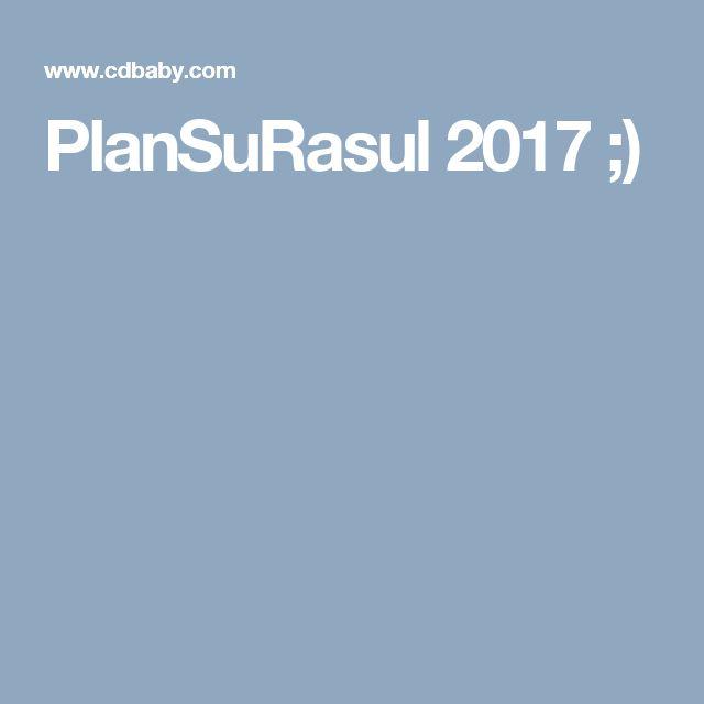 PlanSuRasul 2017 ;)