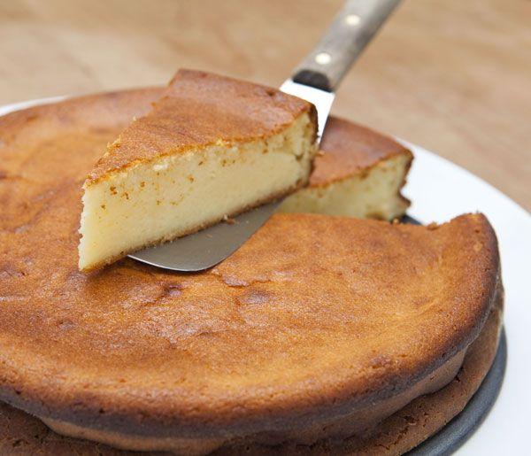 Saftiger Käsekuchen ohne Boden - immer ein Genuss