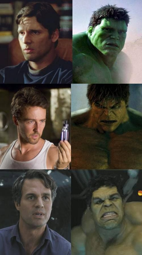 The (Incredible) Hulks!  They still left out Bill Bixby|:(