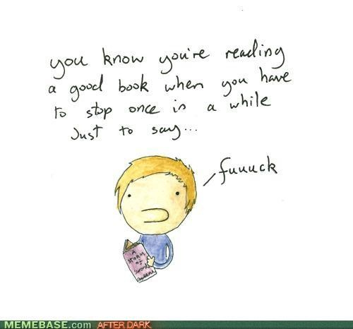 Definately felt like this reading books 3-5 of A Song of Fire and Ice.