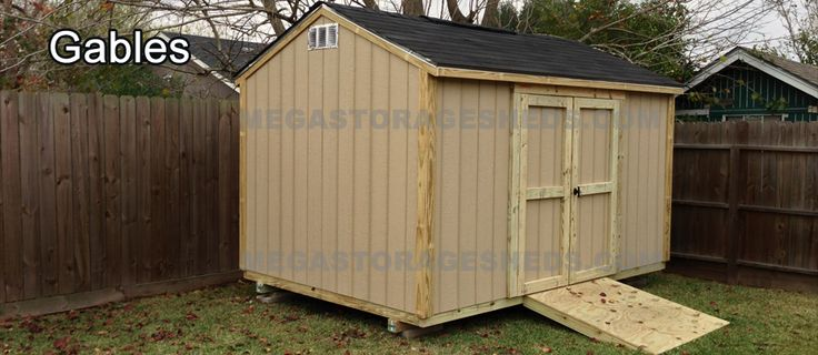 Another great customer building things for other builders. Mega Storage Sheds out of Houston looks to be doing great work. Looks like we're selling them some hinges and braces!