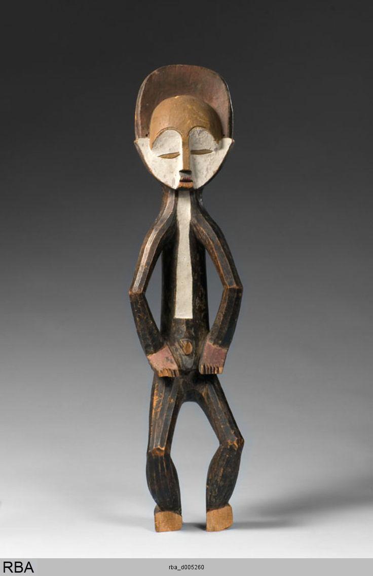 (776×1200)Mbole & Demokratische Republik Kongo & Zentralafrika 1886/1900 StatuetteSkulptur & Kleinskulptur gefaßt (polychrom), Holz Farbe Höhe: 75 cm