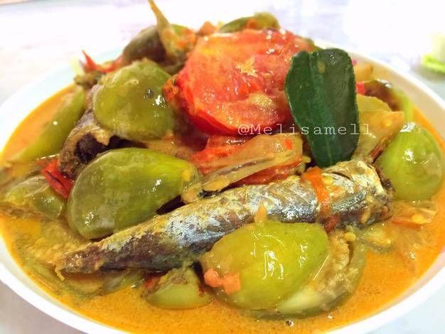 Resep Terong Bulat Masak Ikan Asin Oleh Melisa Winatamarjito Resep Makanan Resep Masakan Indonesia Terong