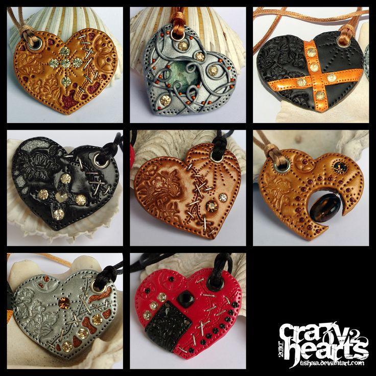 Crazy Hearts 2 by tishaia.deviantart.com on @deviantART