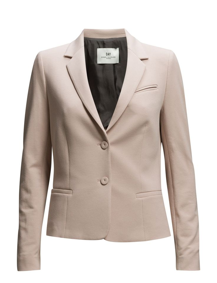 DAY - Day Sweat Welt pockets Fitted silhouette Notched lapel Pieced sleeves Elegant sophistication with a modern twis